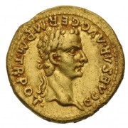 Gold aureus depicting Caligula