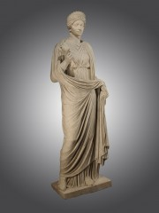 Julia Titi (or Domitia) in the guise of the goddess Demeter