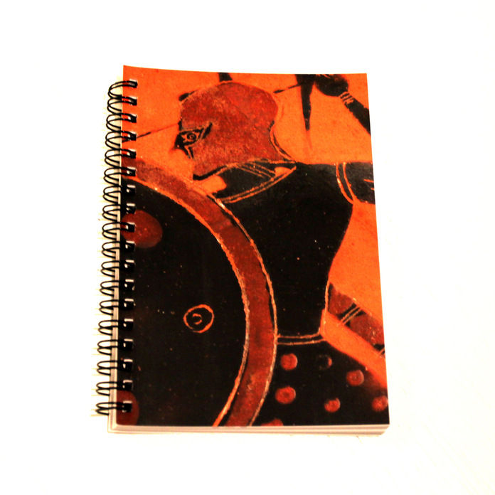 Spiralbound Notebook – Greek Warrior